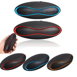 $enCountryForm.capitalKeyWord Canada - Hot Mult-function Mini Football Portable Speaker Wireless Bluetooth Speaker Mic Super Bass FM Support for iPhone for Samsung