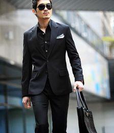Discount Dark Grey Suit Black Shirt | 2017 Dark Grey Suit Black ...