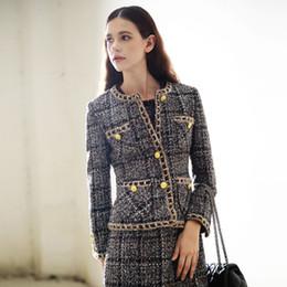 Discount Tweed Jacket Women | 2017 Long Tweed Jacket Women on Sale ...