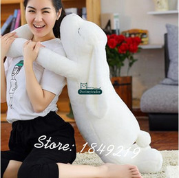 giant soft toy rabbit 2020 - Dorimytrader 120cm Lovely Plush Soft Cartoon Rabbit Toy Stuffed Giant 47'' Animal Bunny Nice Lover Gift Free S