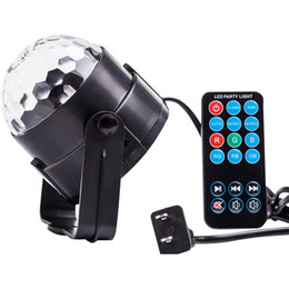 China Party Lights Disco Ball 3w Led Strobe Stage Halloween Christmas Rgb Led Par Light Lighting with Remote Control for DJ Bar Xmas suppliers