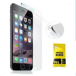 $enCountryForm.capitalKeyWord Canada - Premium Anti Shock Tempered Glass 9H 2.5D Screen Protector for iPhone 6 6S 6 Plus 6S Plus 10PCS Box