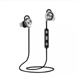 Voice Phone Call NZ - wholesale newest X9 Magnetic Metal Bluetooth Headset v4.1 Stereo Sport Wireless Earphone Handsfree Voice Answer Phone Calls Apt-x for Mobile