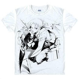 Attack on Titan Mikasa Ackerman Man's T-shirt da uomo Anime Shirt Cute Girls 'Dress Polo da donna T-shirt