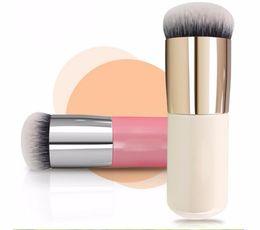 faced cosmetics pro 2018 - 10pcs lot Pro BB Foundation Brush Face Brush Blush Makeup Cosmetic Tool Powder Brush 5H2T cheap faced cosmetics pro