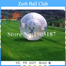 $enCountryForm.capitalKeyWord Australia - Free Shipping 2.5m Transparent PVC Inflatable Bowling Game Zorb Ball Inflatable Human Hamster Ball For Adults
