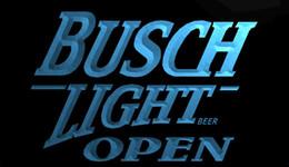 Discount busch neon lights - LS711-b-Busch-Light-Beer-OPEN-Bar-Neon-Light-Sign.jpg Decor Free Shipping Dropshipping Wholesale 8 colors to choose