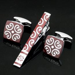 $enCountryForm.capitalKeyWord Canada - Hot Sale Print Men's Cufflink Cuff Links Men Floral Wedding Cufflinks Free shipping Business Shirt Cufflink Tie Pin Set Z-026