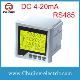 Wholesale Wholesale-CJ-3D3Y-D LCD Power Quality Meter intelligente Multifunktions-Leistungsmesser mit Analogausgang 4-20mA DC mit RS485-Funktion