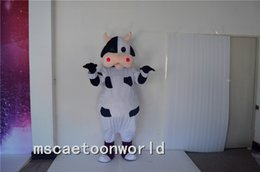 $enCountryForm.capitalKeyWord Canada - 2016 new Mascot Costumes Real Pictures Deluxe dairy cattle Toro Bull Betsy Cow Mascot costume Adult SIZE Halloween Easter party custom