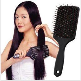 Hair Brushing NZ - Women Hairbrush Brush Comb Salon Styling Tamer Tool Massage Brush For Professional Heathy Paddle Cushion Hair Brush Free DHL Fedex