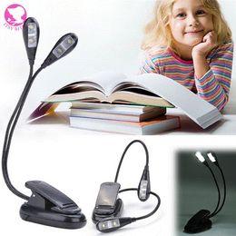 $enCountryForm.capitalKeyWord Canada - Hot Selling 360 Degree 4 Leds Mini Flexible Clip Stand Book Ebook Piano Led Light Laptop PC Reading lamp