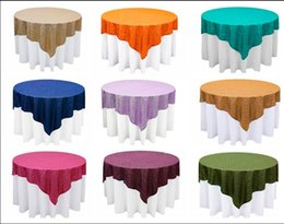 wholesale round sequin fabric table cloths for wedding party cheap sequin table linens wedding cake sequin table cover event party