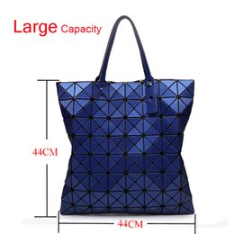 Vente en gros La Capacité Maximale Femmes Mode BAOBAO Sac Géométrie Paquet Mat Surface Pliant Japon Bao bao Sacs À Main