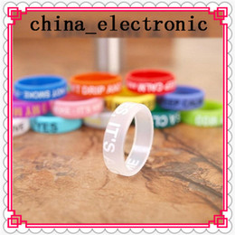 $enCountryForm.capitalKeyWord NZ - Colorful Non-Slip Silicone Ring for e Cigarette Mod Vapor Silicone Band Vape Ring Non-Skid Silicon Ring for Mahattan Apollo Subtank freeship