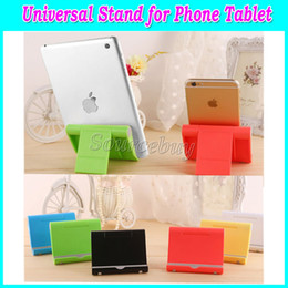 universal adjustable tablet stand UK - New Adjustable Angle Tablet Mobile Phone Stand Holder for iPad iPhone Tablets Universal Bracket Stents Desk Stand for iphone 6 plus Samsung