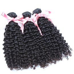"remi human hair NZ - 100% Malaysian Human Hair Weave Double Weft Extensions 8""~30"" Unprocessed Remi Hair Greatremy Natural Color Dyeable 3PCS Grade 7A Curly Wave"
