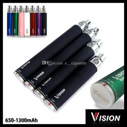 Vision I Ego c твист электронная сигарета ego-c твист аккумулятор 650/900/1100/1300 мАч переменное напряжение 3.3-4.8V 510 нить аккумулятор