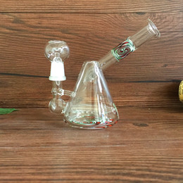 Chinese  Sidecar oil rigs bong heady colored glass vapor rigs glass oil concentrated dabbers glass bongs water pipes with 14.5mm joint size manufacturers