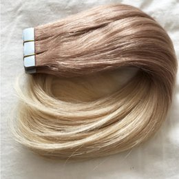 Discount human hair tape extensions ombre 2018 human hair tape discount human hair tape extensions ombre human hair tape in extensions 100g hot sale balayage color pmusecretfo Gallery