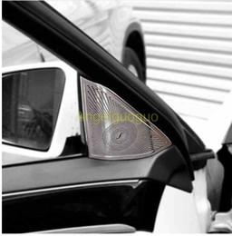 Опт AngelguoguoCar двери аудио динамик громкоговорители громкоговоритель крышка отделка Крышка для Mercedes benz 2010-2015 E класс W212