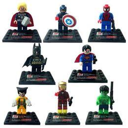 $enCountryForm.capitalKeyWord Canada - 32pcs Ninja figures marvel super heroes minitoy go building blocks figures bricks toys action figure wholesale