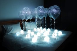 $enCountryForm.capitalKeyWord Australia - 180pcs  lot 12 Colors Firefly Effect Ball-shaped Magic LED Mini Lights 3 4inch Diameter Floating LED Fairy Pearls for Wedding Centerpiece