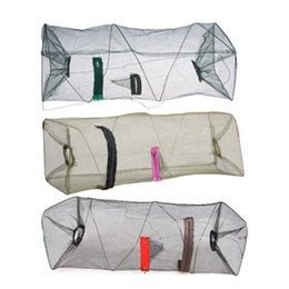 online shopping Nylon Mesh Fishing Net Fishnet Bait Trap Cast Dip Net Cage Crab Fish Crawd Shrimp Crayfish Crabs Minnow Fishing Nets Pesca