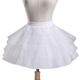 Chinese  2016 Hot Sale Ball Gown In Stock Wedding Accessories KidsPetticoat Ball Gown Underskirt For Children Flower Girl Dresses Crinoline Q141 manufacturers