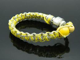 Click N Vape Bracelet NZ - bracelet smoke Handmade wrist pipe bracelet smoking pipe vaporizer for discreet sneak a toke click n vape