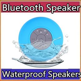 Sucker mini Speaker online shopping - Waterproof Wireless Bluetooth Speakers Dustproof Mini Speaker Handfree Sucker Colorful BTS HOT Good Quality Free DHL Shipping A YX