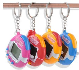 New virtual games online shopping - New Retro Game Toys Pets In One Funny Toys Vintage Virtual Pet Cyber Toy Tamagotchi Digital Pet Child Game Kids with Nostalgic Keychain