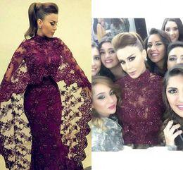 $enCountryForm.capitalKeyWord Canada - Abaya In Dubai Purple Lace Evening Dresses Mermaid Muslim Arabic Long Prom Gowns New yousef aljasmi Kaftan Dress