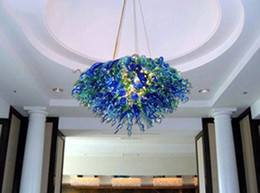 Led ceiLing dome Light online shopping - Led Source Hand Blown Borosilicate Glass Dale Chihuly Murano Art Dome Ceiling Light Venetian Glass Pendant Lights