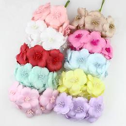 $enCountryForm.capitalKeyWord Canada - 6cm Artificial camellia flower Bouquet, Multicolor silk poppy rose flowers for wedding Scrapbooking decoration,60pcs lot