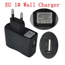 ego chargers NZ - USB AC Power Wall Adapter Charger EU US for Electronic cigarettes eGo evod ugo TVR 30 eGonow vape mods battery ecigarettes ecigs DHL