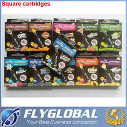 online shopping 2016 Square cartridges refillable Multi Flavor for square Starbuzz E Hose Cartridge atomizer Flavours for Starbuzz ehose Mod pack