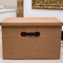 $enCountryForm.capitalKeyWord Australia - Clothing Organizer Large Storage Boxes Foldable Cubes Bin 8 colors Storage Boxes Home Storage Free Shipping