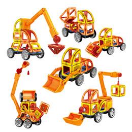 Kids toys magnetic building online shopping - 60Pcs Magnetic Designer Building Blocks D DIY Creative Engineering Vehicles Bricks Models Learning Educational Toy Kid Gifts
