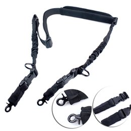 Wholesale Multi Use Point Single Point Rifle Gun Sling Degree Adjustable Shoulder Strap With Shoulder Pad