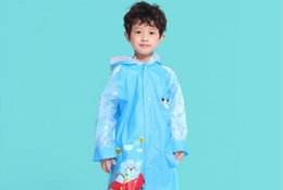 Funny Raincoats UK - cartoon children raincoat style animal shaped children poncho baby raincoat funny raincoat Free Shipping Wholesale