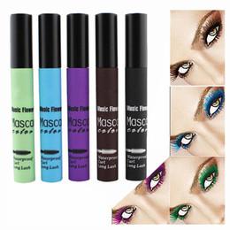 $enCountryForm.capitalKeyWord Canada - Wholesale-5Colors 1Pcs Makeup Lengthening Eyelash Mascara Waterproof Volume Full Express Curling Mascara Cosmetics Eye Lash Color Beauty