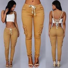 Discount Women Multi Pockets Pants | 2017 Women Multi Pockets ...