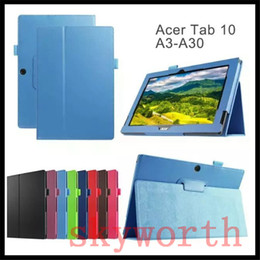 $enCountryForm.capitalKeyWord Canada - Magnetic PU Leather Folio Flip Folding Case Cover for Acer Iconia Tab 8 A3-A30 A3-A20 One 7 B1-750 B1-770 Talk S A1-724