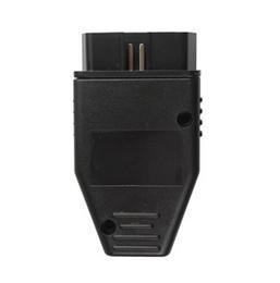 obd diagnostic connector 2019 - Wholesale-5pcs lot Car Diagnostic Tool OBD Male Plug 16Pin OBD2 Connector OBD 2 16 Pin OBD II Adaptor OBDII J1962 Connec