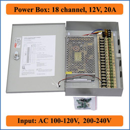 18 port 12v 20a cctv camera power box 18ch discount switching power supply box 12v 2017 switching power 18 Channel CCTV Power Supply at bayanpartner.co