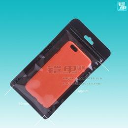 $enCountryForm.capitalKeyWord NZ - 300pcs Wholesale Blank Zipper Lock Plastic Package Black Bags Without Printing For iPhone 4 5 6S 6Splus Samsung S6 S7 S7edge
