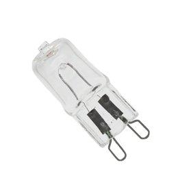 G9 галогенная лампа 25 Вт/40 Вт/50 Вт 110 В/220 В 2700 К теплый белый для настенного светильника прозрачное стекло каждый с внутренней коробкой