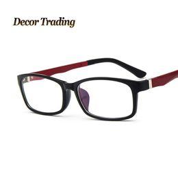 2016 Brand Designer Eyeglasses Frame Vintage Eye Glasses Clear Lens Reading Eyewear Optical Glass Frames LkuGt