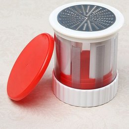 Mini feed online shopping - Cheese Grater Stainless Steel Mini Shaping Children Feeding Grinding Planing Zester Lemon Wire Scraper Hot Sale sm F R